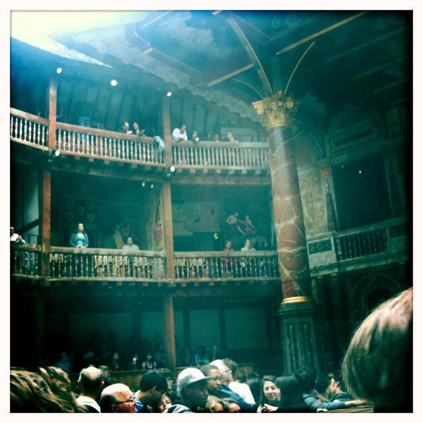 LSU in London Globe Theatre